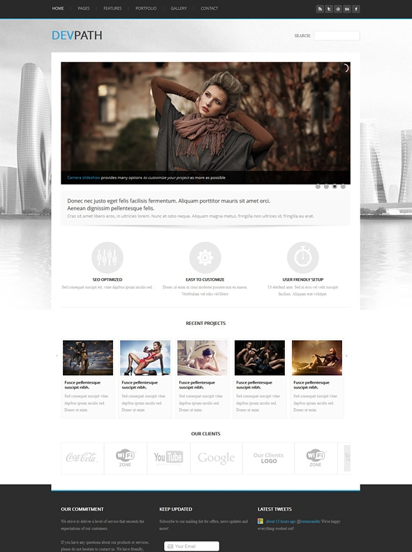 Template Image for Devpath - Responsive Website Template