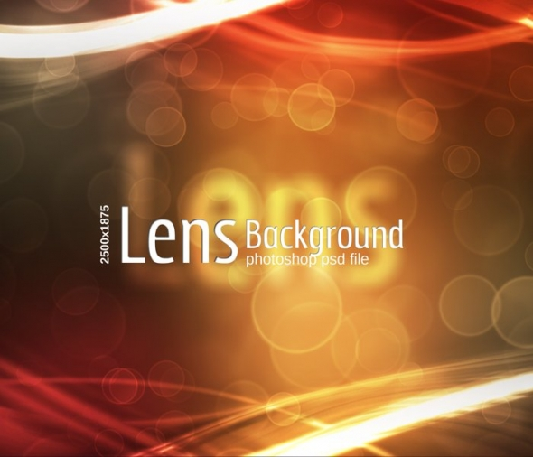 Template Image for Lens Abstract Background - 30528
