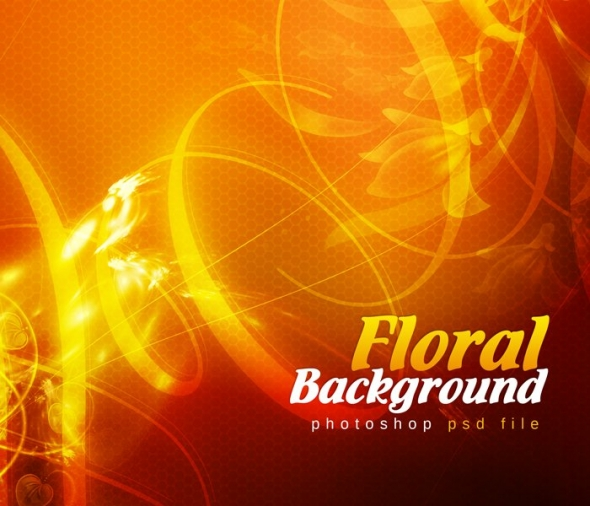 Template Image for Floral Abstract Background - 30527