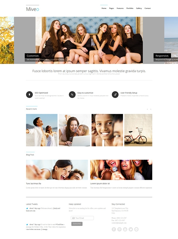 Template Image for Miveo - Responsive Web Template