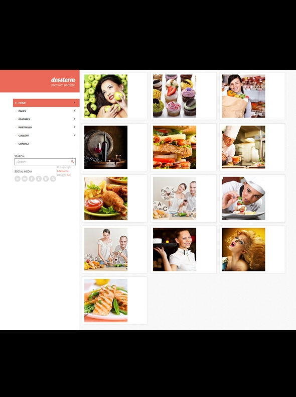 Template Image for Devstorm - Responsive HTML Template