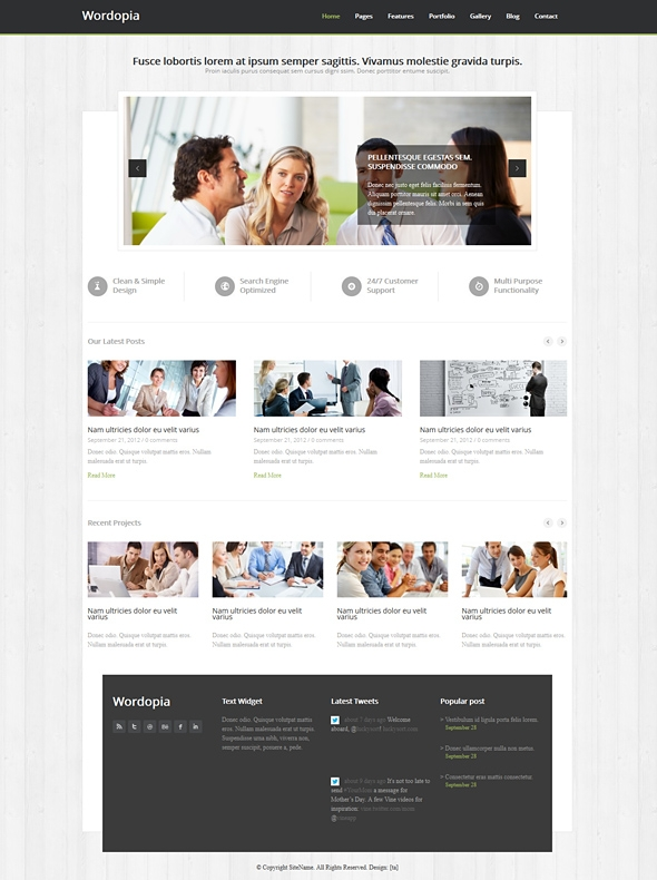 Wordopia responsive website template corporatebusiness template image for wordopia responsive website template pronofoot35fo Choice Image
