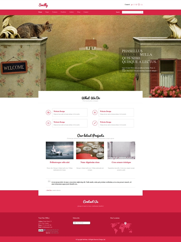 Template Image for Swilly - Responsive Web Template