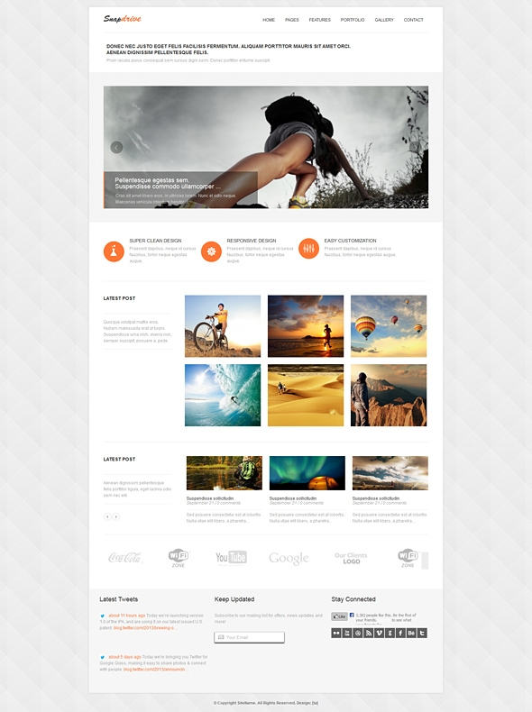 Template Image for Snapdrive - Responsive Website Template