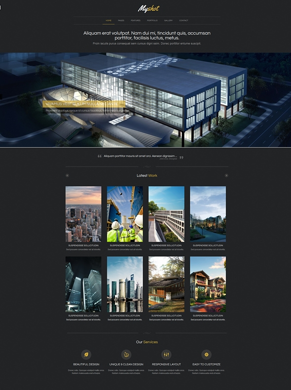Template Image for Snaplist - Responsive Website Template