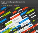 Image for Image for Login Forms & Pagination Elements - 30005