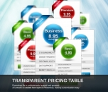 Image for Image for Transparent Pricing Table - 30007