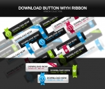 Image for Image for Download Buttons with Ribbons - 30023