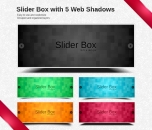 Image for Image for Beautiful Slider Box with Shadows - 30068