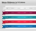 Image for Image for Beautiful Menu Ribbons - 30075