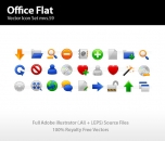 Image for Image for Flat Office Icons Standard - 30257