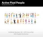 Image for Image for Sports Pixel People - 30272